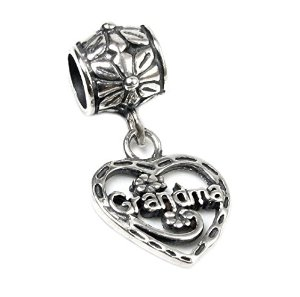 Pandora Heart Love Grandma Dangle Charm