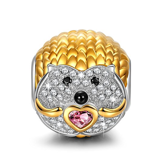 Pandora Hedgehog Animal Charm