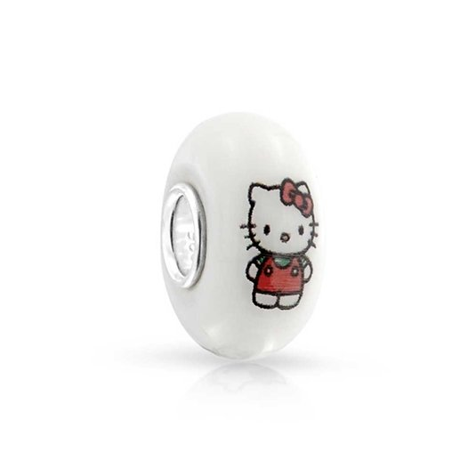 Pandora Hello Kitty Murano Glass Charm