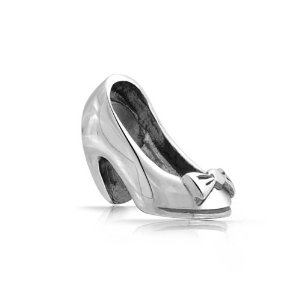 Pandora High Heel Shoe Bow Charm