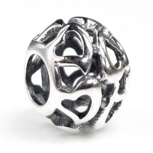 Pandora Infinity Love Lots Open Heart Filigree Charm