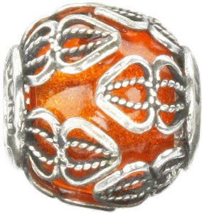 Pandora Italy Glass Filigree Cage Charm smaller image
