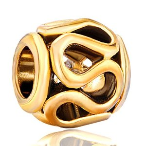 Pandora Lacy Spacer Gold Plated Charm