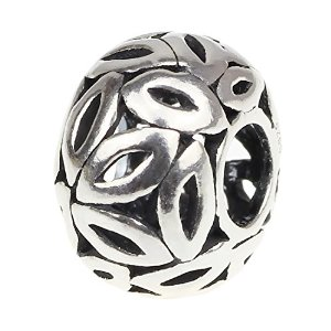 Pandora Lattice Leaves Charm