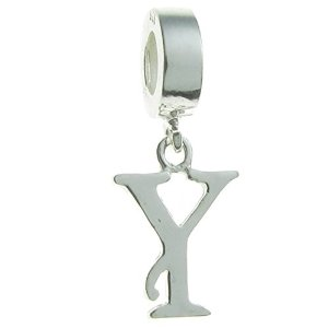 Pandora Letter Initial Y Dangle Charm image