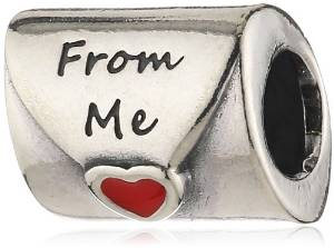 Pandora Letter To Father I Have Been Good Enamel Charm