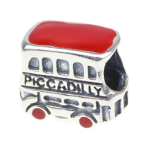 Pandora London Piccadilly Double Decker Bus Charm