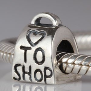 Pandora Love To Shop Shopping Bag Charm