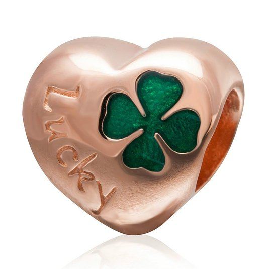 Pandora Lucky Four Leaf Clover Golden Charm