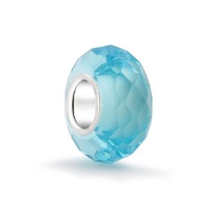 Pandora March Birthstone Aquamarine Faceted Charm