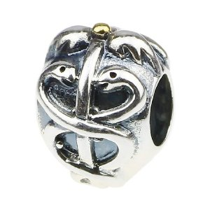 Pandora Medical Association Gold Plated Charm