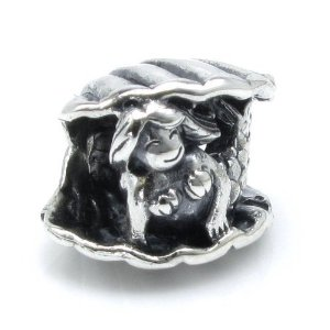 Pandora Mermaid With Sea Shell Charm