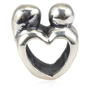 Pandora Mother And Child Love Heart Charm