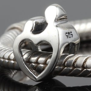 Pandora Mother Child Heart Charm