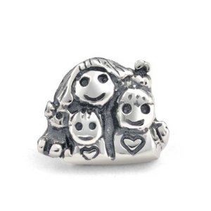 Pandora Mother Children Happy Family Charm