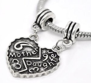 Pandora Mother Daughter Dangle Charm