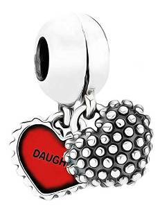 Pandora Mother Daughter Mom Rhinestone Charm