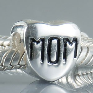 Pandora Mothers Heart Mom Charm