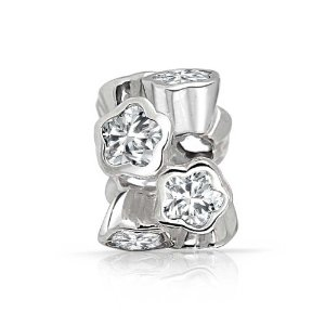 Pandora Multi Star Clear CZ Charm