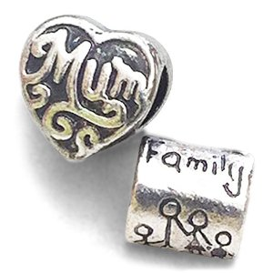 Pandora Mum And Family Charm
