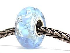 Pandora Murano Glass Ice Flowers Charm