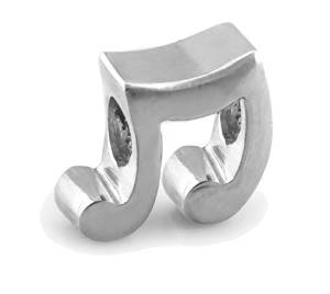 Pandora Music Notes Clip On Charm