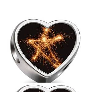 Pandora New Year Star Fireworks Photo Charm