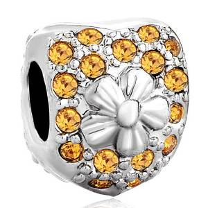 Pandora November Birthstone Full Shinning Dots Charm
