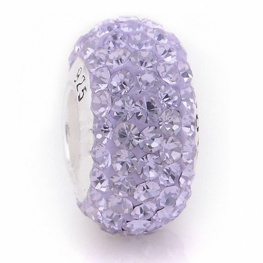Pandora ONE VIOLET CRYSTAL Charm