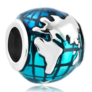 Pandora Ocean Blue Earth Charm