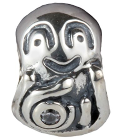 Pandora Octopus Clip On Silver Plated Charm