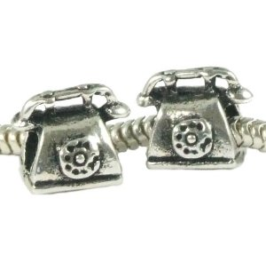 Pandora Old Fashioned Telephone Charm