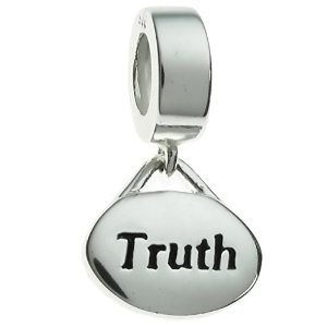 Pandora Oval Truth Dangle Charm image