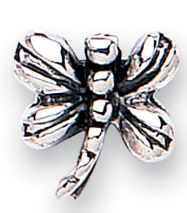 Pandora Oxidised Silver Dragonfly Charm smaller image