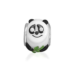Pandora Panda Bear Glass Animal Charm