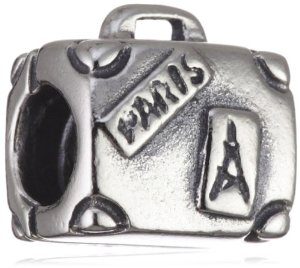 Pandora Paris Suitcase Travel Charm