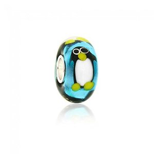 Pandora Penguin Murano Glass Charm smaller image