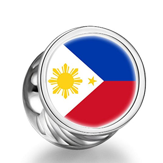 Pandora Philippines Flag Photo Charm