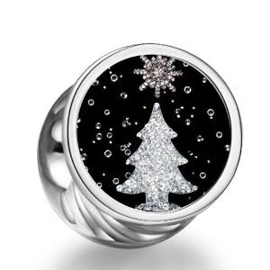 Pandora Photo Christmas Tree Charm