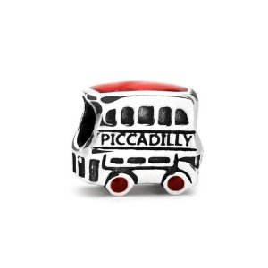 Pandora Piccadilly Double Decker Bus London Charm