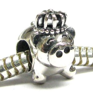 Pandora Pig King With Crown Charm