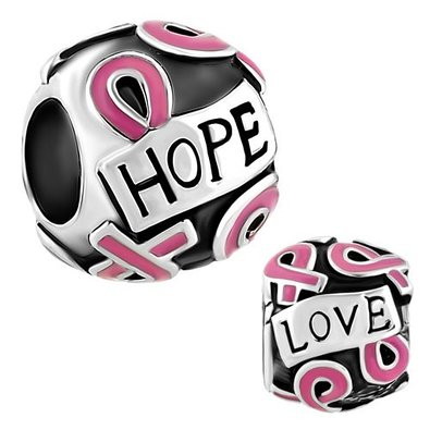 Pandora Pink Ribbon Of Hope Charm