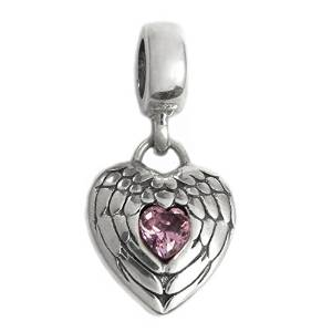 Pandora Pure Solid Dangle Heart Charm smaller image