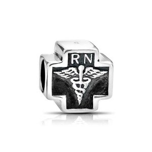 Pandora RN Nurse Cross Charm