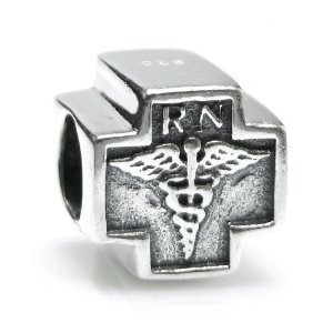 Pandora RN Registered Nurse Cross Charm
