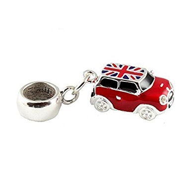 Pandora Red Mini Cooper Car Charm