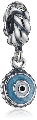 Pandora Round Evil Eye Dangle Charm