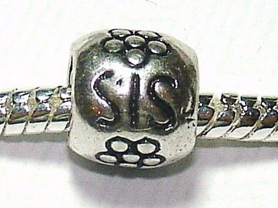 Pandora SIS Sterling Silver With Flowers Charm
