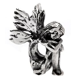 Pandora Sad Sitting Fairy Charm