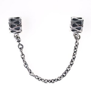 Pandora Safety Chain With Stoppers Charm